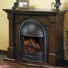 dimplex brockton 47 inch electric fireplace burnished walnut