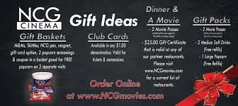 dinner and a gift card gift ideas ncg