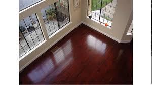 Hardwood Flooring Unfinished Brazilian Cherry Hardwood Floors Youtube