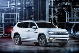 2018 vw atlas r line first look arrives may 2017 to usa showrooms