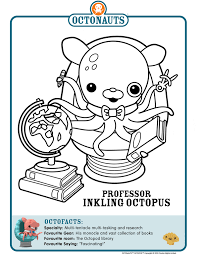 octonauts coloring pages color pages u0026 printables