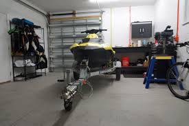 Trailer Garage by Trailer Wheels Sea Doo Onboard