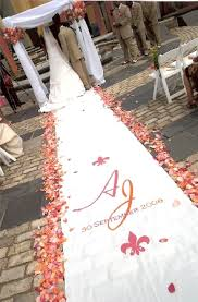Personalized Aisle Runner Sonal J Shah Event Consultants Llc Customized Aisle Runners