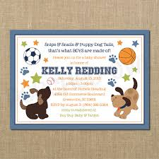 puppy dog baby shower invitations theruntime com