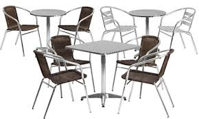 cafe table and chairs commercial table sets with chairs modern furniture collections