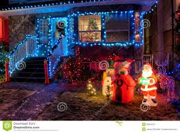 Christmas Lights House by Christmas Lights House Royalty Free Stock Images Image 35830869