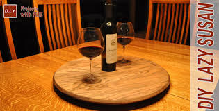 Glass Lazy Susan For Patio Table how to make a whiskey barrel lazy susan youtube