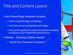 powerpoint template medical theme with doctor nurse with