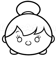 draw tsum tinkerbell step step drawing sheets added dawn