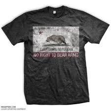 California Flag Bear California Flag Rkba Infringed T Shirt
