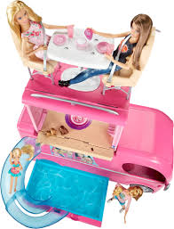 barbie pop up camper