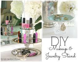 Dollar Store Home Decor Ideas by Diy Makeup Storage And Organization Ideas Youtube Loversiq
