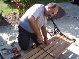 iron park benches a new chapter diy restoring a park bench