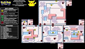 safari zone map yellow version special pikachu edition safari zone map