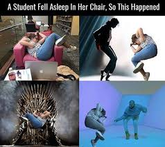 Meme Chair - sleep in a chair become a meme
