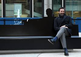 don draper bench in nyc designed by pentagram marks the end of