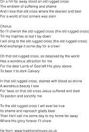 The Old Rugged Cross Made The Difference Sheet Music Hymn The Old Rugged Cross Lyrics Rugs Ideas