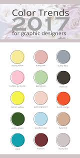 Color Forecast by 2017 Color Trends For Graphic Designers Dana Nicole Designs