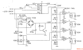 120v voltage regulator wiring diagram components