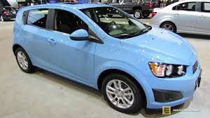 Chevrolet Sonic Interior 2014 Chevrolet Sonic Lt Turbo Exterior And Interior Walkaround