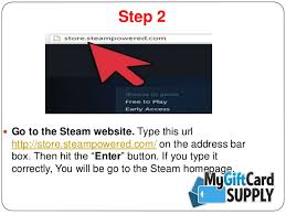 steam powered gift card the easiest way to redeem your steam gift card mygiftcardsupply