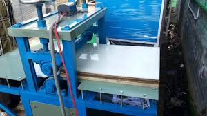 secund hand eps thermofarming glass dona plate machinery urgentely