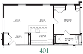 Bedroom Floorplan by Hermitage Senior Housing Floor Plans Richmond Va Independent And
