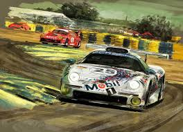 porsche 911 poster porsche 911 gt1 1996 winner ingt1 class by rizov on deviantart