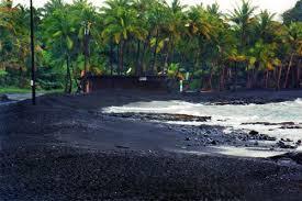 black sand beach big island punaluu black sand beach big island hawaii travel pinterest