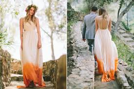 dip dye wedding dress 18 dip dye wedding gowns that will unleash the gwen stefani in you
