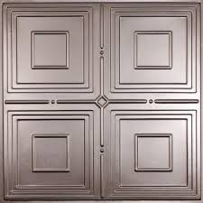 ceilume jackson faux tin 2 ft x 2 ft lay in or glue up ceiling ceilume jackson faux tin 2 ft x 2 ft lay in or glue up ceiling panel case of 6 v3 jack 22pbr the home depot