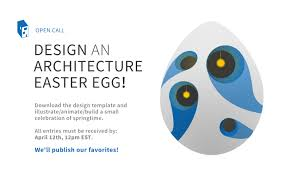 gallery of call for entries architecture themed easter egg design