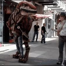 velociraptor costume terrify the with your own like velociraptor costume