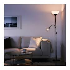 not floor uplight reading l ikea not floor uplight reading lamp black white new ebay
