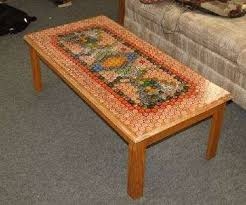 Epoxy Table Top Ideas by Bottle Cap Table I U0027m Thinking Of Making My Boyfriend One Of These