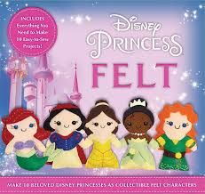 disney princess felt kit make 10 beloved disney princesses