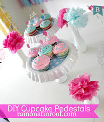 cupcake and cake stand diy cupcake stand less than 5 for two