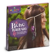 boho hair wraps craft tastic boho hair tie kit williams