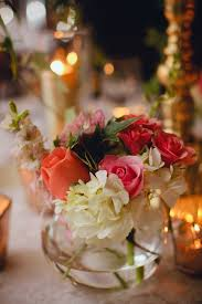 small centerpieces small fishbowl wedding centerpiece elizabeth designs the