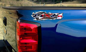 american flag truck 4x4 truck decal american flag sticker patriotic compatible with