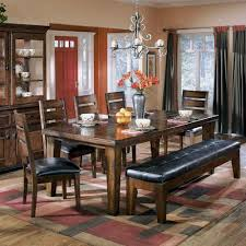 Amusing Ashley Furniture Dining Table With Bench  For Old Dining - Ashley furniture dining table images
