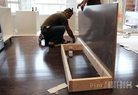 how to install kitchen island cabinets kitchen island base cabinets creating an kitchen island pink