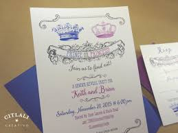prince or princess crown gender reveal baby announcements
