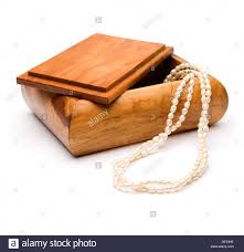 pearl necklace jewelry box images Wooden jewelry box pearl necklace stock photos wooden jewelry jpg