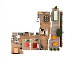 2 Story Apartment Floor Plans 25 More 3 Bedroom 3d Floor Plans Architecture U0026 Design