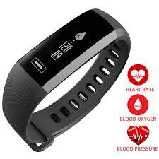 bracelet digital watches images Smart digital wrist watch band heart rate blood oxygen pressure jpg
