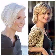 hair to hide forehead wrinkles side swept shorter hairstyles for older women hair world magazine