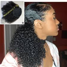 weave ponytail ponytail hairstyles afro curly weave ponytail