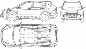 Honda Crv Interior Dimensions Honda Crv Trunk Dimensions The Blueprints Gt Cars Honda Crv