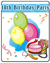 printable 18th birthday party invitations